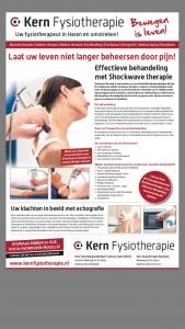 Shockwave bij Kern Fysiotherapie